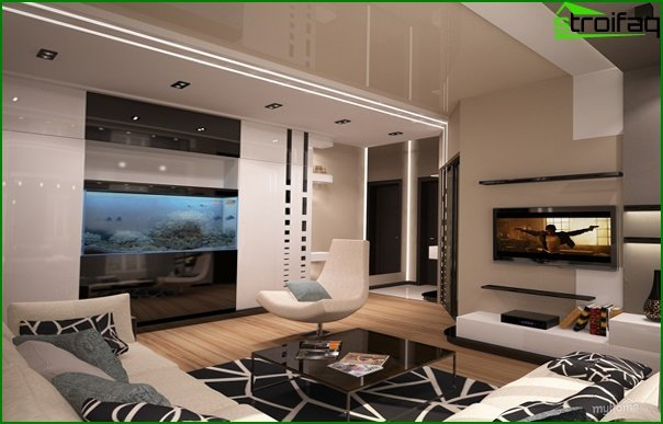 Living room furniture (aquarium) - 5