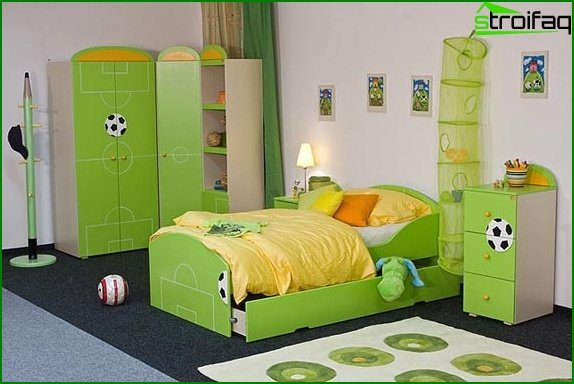 The subtleties of creating a children's room for sleep - photo 3