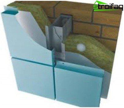 Наружная отделка ванны из пеноблока