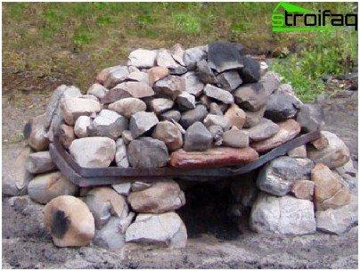 Estufa de camping sin marco
