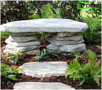 sten bænk