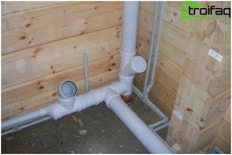 Installation von Nebenleitungen