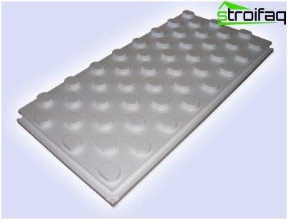 Подложки за подово отопление