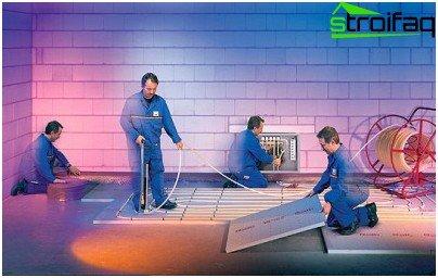 Подово отопление: стъпки за монтаж