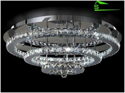 Araña de techo con lámparas múltiples
