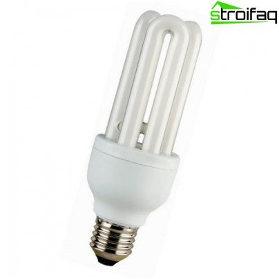 U-förmige Energiesparlampen