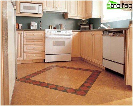 Cork flooring: unusual, spectacular, practical