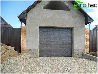 Optie 2 - Doe-het-zelf garage met schuimblokken