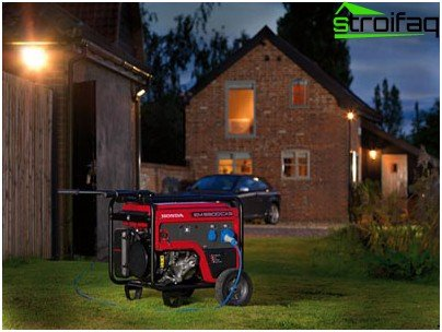 Generators for summer cottage - a guarantee of a comfortable stay