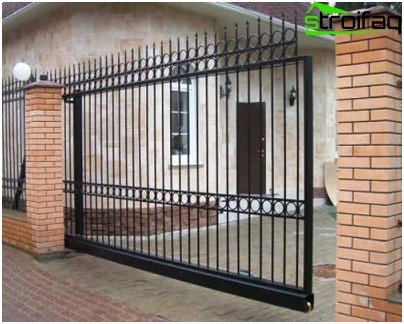forged sliding gates