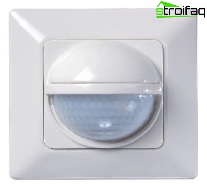 Bewegingssensor voor verlichting