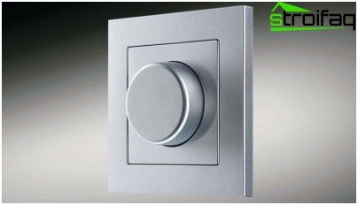 Rotary dimmer