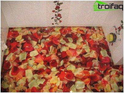 Skupno 3D podovi (tema cvijeća)