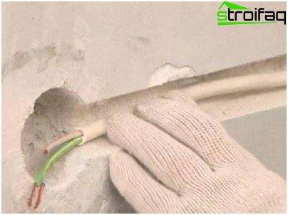 Provođenje kabela u strobovima