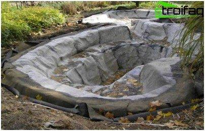 ciotola di cemento