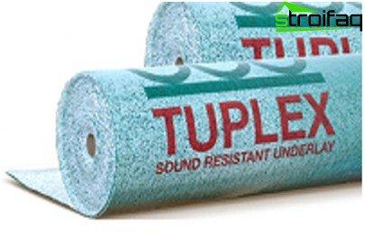 TUPLEX backing