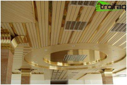 Aluminium verlaagd plafond