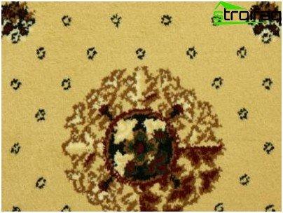 Moquette tessuta