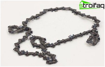 chain for a saw