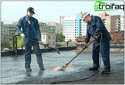 Bitumendachrestaurierung