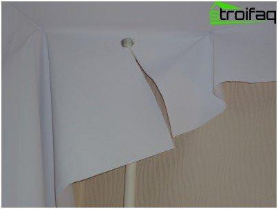 직물 스트레치 천장 설치