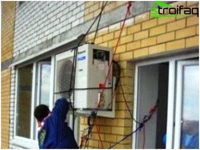 Auswahl einer Klimaanlage für Ihr Zuhause: stationäres Split-System