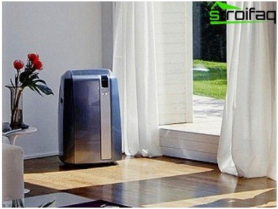 Aesthetic floor air conditioners for home