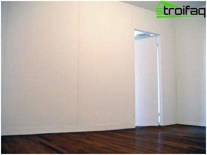 Beautiful smooth walls