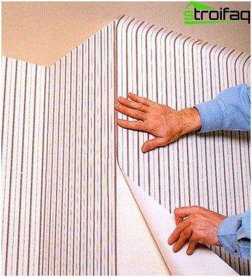 Come tappezzare gli angoli esterni con la carta da parati