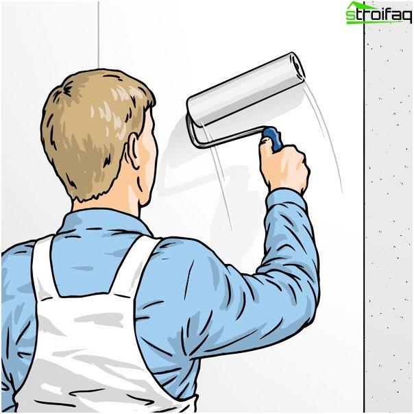 Wie man Vlies Tapeten klebt