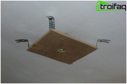 Chandelier Mounting Plate