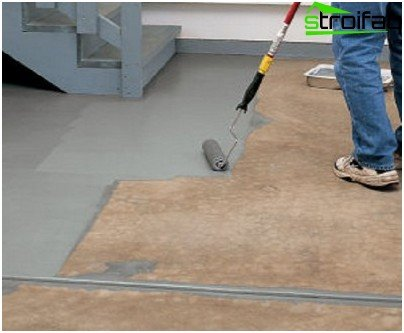 Waterproofing with mastic