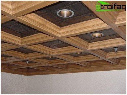 Използване на малки корнизи за ниски тавани