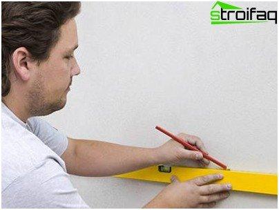 Маркиране на стена