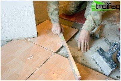 Tecnología de colocación de pisos