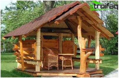 Errichtung eines Pavillons