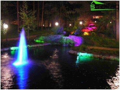 Svjetla za fontane
