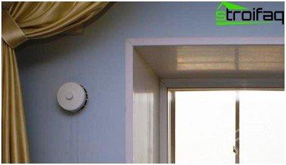 Клапан за всмукване на въздух за стена, таван или прозорец повишава ефективността на вентилацията в отделна стая