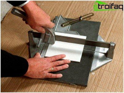 Manual Tile Cutting Technique
