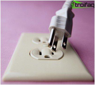Plug for modern equipment