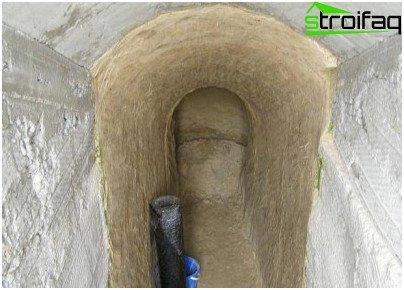 ترتيب الجدران في القبو