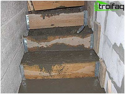 How to make steps to the cellar
