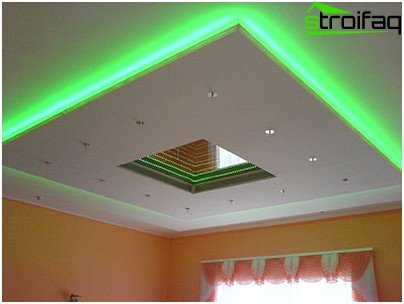 Do-it-yourself gypsum ceiling