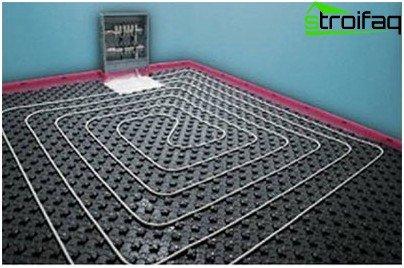 водяна підлога