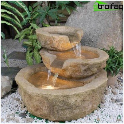 fountain structure