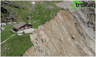 fraught with landslides