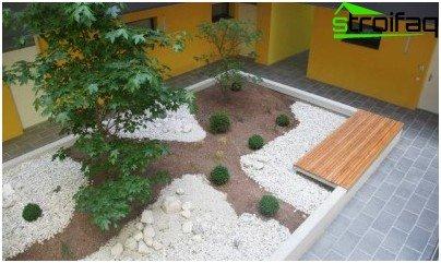 zasnovan na kamenom vrtu
