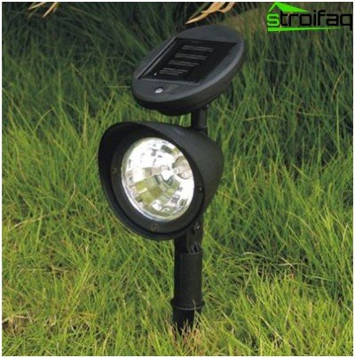 Linterna de energía solar