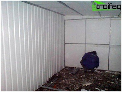 Wall insulation with foam