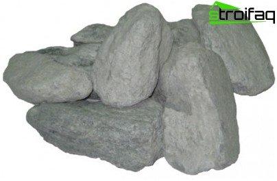 Камъни за баня: габро диабаза